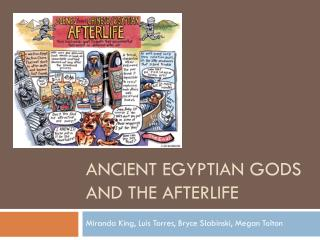 Ancient Egyptian Gods and the Afterlife