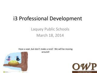 i3 Professional Development