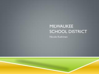 Milwaukee school district