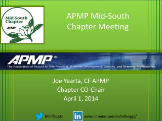 APMP Mid-South Chapter Meeting