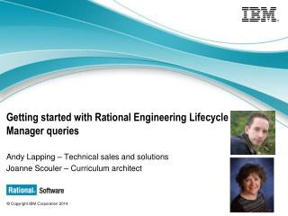 Getting started with Rational Engineering Lifecycle Manager queries