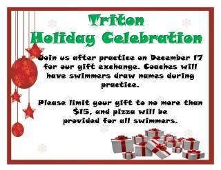 Triton Holiday Celebration