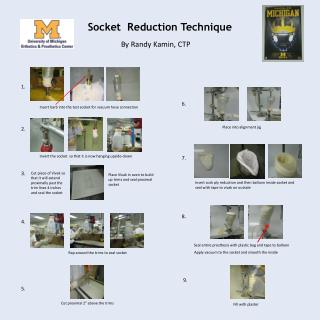 Socket  Reduction Technique