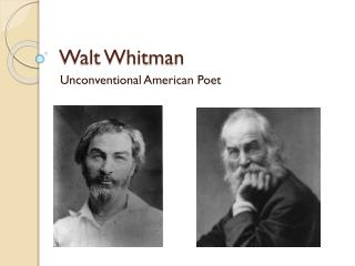 the redefinition of self identity in the poetry of walt whitman and emily dickinson