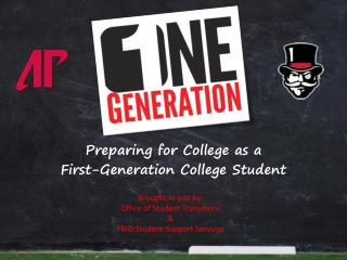 Preparing for College as a First-Generation College Student
