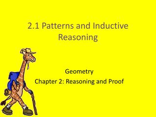 2.1 Patterns and Inductive Reasoning