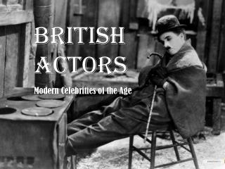 BRITISH ACTORS