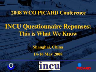 INCU Questionnaire Reponses: This is What We Know