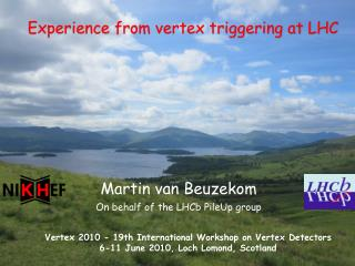 Experience from vertex triggering at LHC