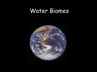 Water Biomes