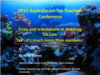 2011 Australasian Tax Teachers Conference