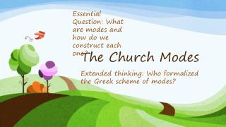 The Church Modes