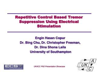 Repetitive Control Based Tremor Suppression Using Electrical Stimulation