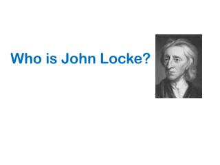 Who is John Locke?
