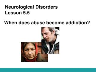 Neurological Disorders Lesson 5.5