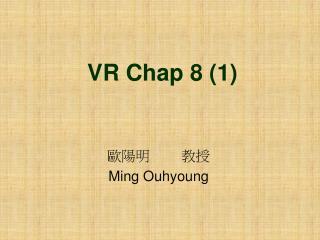 VR Chap 8 (1)