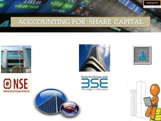 ACCCOUNTING FOR  SHARE CAPITAL