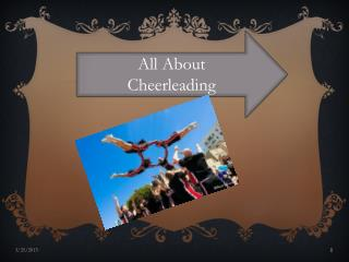 All About  Cheerleading