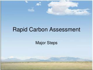 Rapid Carbon Assessment