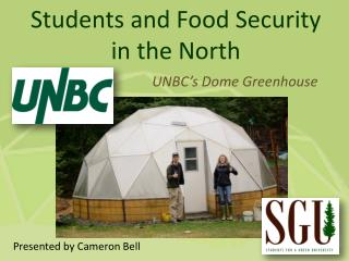 Students and Food Security in the North