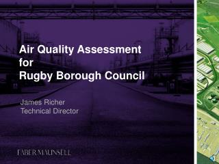 Air Quality Assessment  for  Rugby Borough Council