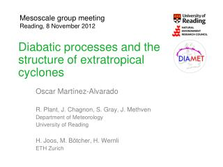 Diabatic processes and the structure of extratropical cyclones
