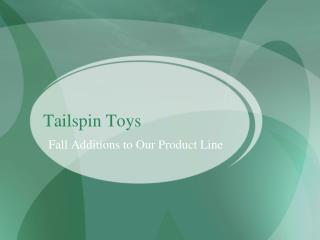 Tailspin Toys