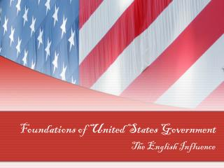 Foundations of United States Government