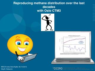 Reproducing methane distribution over the last decades  with Oslo CTM3