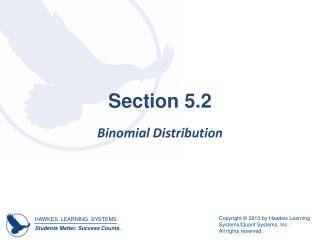 Section 5.2