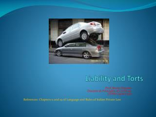 Liability and Torts