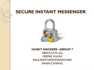 SECURE INSTANT MESSENGER