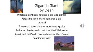 Gigantic Giant by Dean