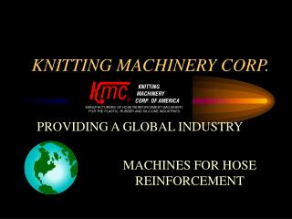 KNITTING MACHINERY CORP.