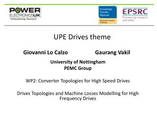 UPE Drives theme