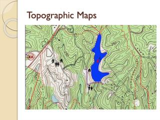 Topographic Maps