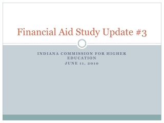 A Focus on the 2009-10 FAFSA Dependency Questions