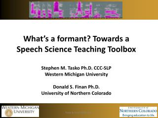 The Speech Science Toolbox Project