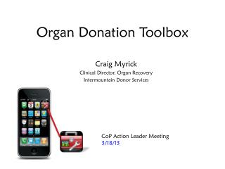 Organ Donation Toolbox