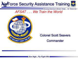 Air Force Security Assistance Training