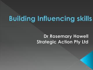 Building Influencing skills