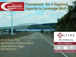 Framework  for a Regional Agenda to Leverage MAP-21