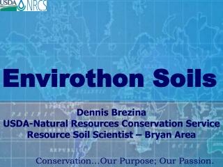 Envirothon Soils
