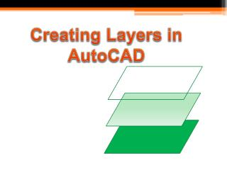 Creating Layers in AutoCAD