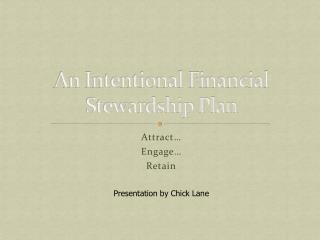 An Intentional Financial Stewardship Plan