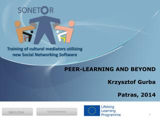 PEER-LEARNING AND BEYOND Krzysztof Gurba Patras , 2014