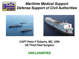 FDPMU Update: Navy Medicine s Deployable Public Health and Preventive Medicine Capability