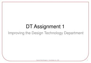 DT Assignment 1