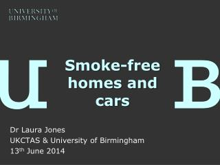 Smoke-free homes and cars