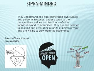 Open-Minded
